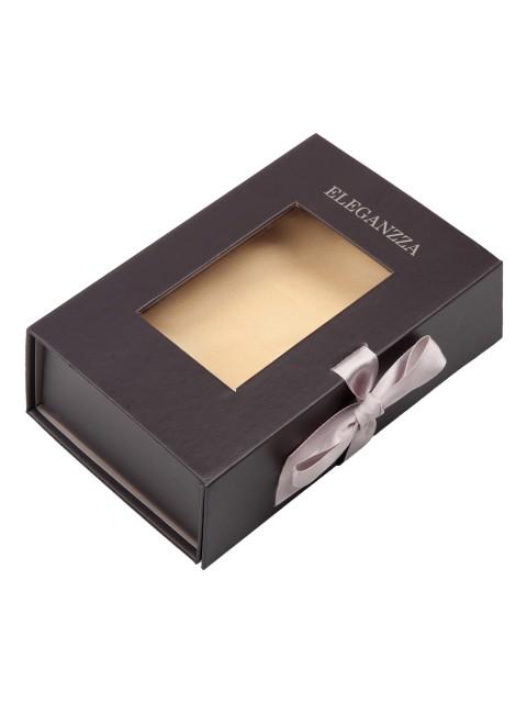 Подарочная упаковка ELEGANZZA (Элеганза) giftbox14,5 Коричневый фото №1 01-00018672