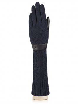 Длинные перчатки Labbra  LB-02073 Голубой фото №1 01-00004507