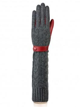 Длинные перчатки Labbra  LB-02073 Светло-серый фото №1 01-00015709