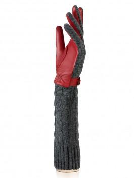 Длинные перчатки Labbra  LB-02073 Светло-серый фото №2 01-00015709