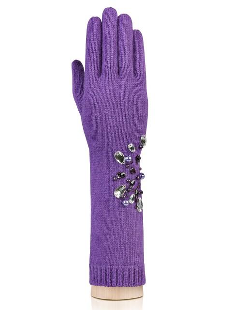 Длинные перчатки Labbra LB-ST04 Фиолетовый фото №1 01-00015721