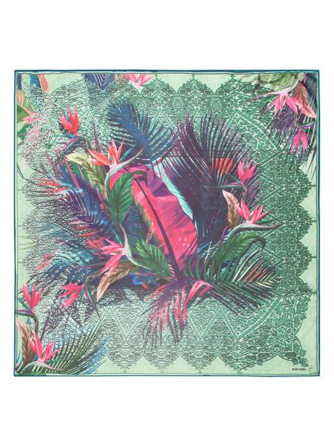 Платок ELEGANZZA (Элеганза) D02-1198 Зеленый фото №1 01-00022758
