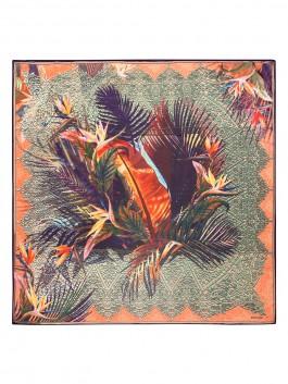 Платок ELEGANZZA (Элеганза) D02-1198 Оранжевый фото №1 01-00022759