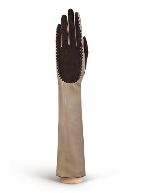 Длинные перчатки ELEGANZZA (Элеганза) IS08086 Бежевый фото №1 01-00003814