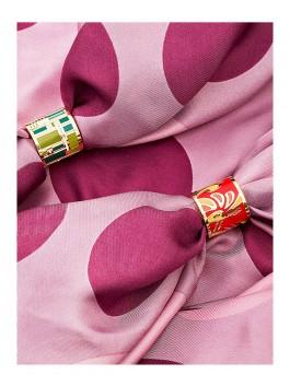Бижутерия для платков ELEGANZZA (Элеганза) R361 Розовый фото №2 01-00011299