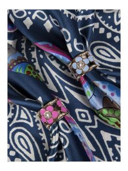Бижутерия для платков ELEGANZZA (Элеганза) R376 Белый фото №2 01-00009217