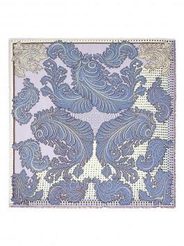 Платок ELEGANZZA (Элеганза) D34-1203 Синий фото №1 01-00022779
