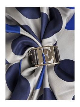Бижутерия для платков ELEGANZZA (Элеганза) 28A-F1002-1 Темно-серый фото №2 01-00013204