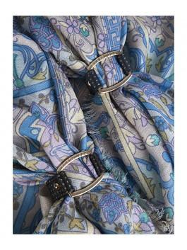 Бижутерия для платков ELEGANZZA (Элеганза) 28A-F1003-2 Черный фото №2 01-00013210
