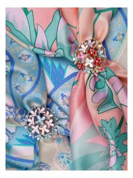 Бижутерия для платков ELEGANZZA (Элеганза) R523-1 Золотой фото №2 01-00017745