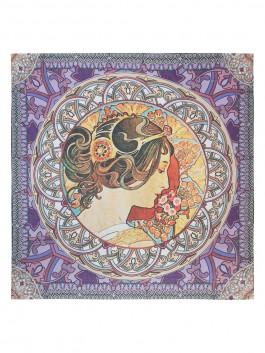 Платок Labbra LFA60-553 Фиолетовый фото №1 01-00024431
