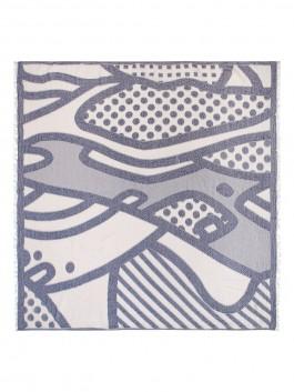 Платок Labbra LLY20-669 Светло-серый фото №1 01-00024237