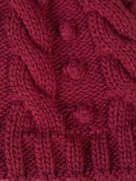 Шапки Labbra  LB-D77101 Бордовый фото №3 01-00024972