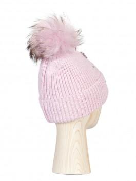 Шапки Labbra LB-N88005 Розовый фото №2 01-00025009
