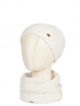 Шапки Labbra LB-N88006 Белый фото №1 01-00025055