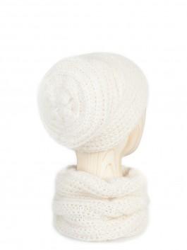 Шапки Labbra LB-N88006 Белый фото №2 01-00025055