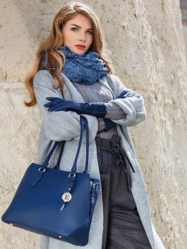 Fashion перчатки ELEGANZZA (Элеганза) IS04020 Синий фото №4 01-00023457
