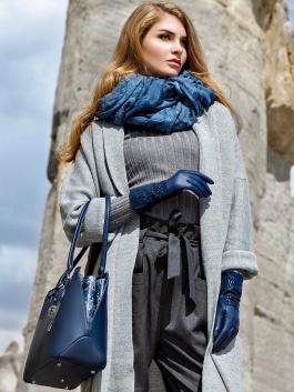 Fashion перчатки ELEGANZZA (Элеганза) IS04020 Синий фото №5 01-00023457