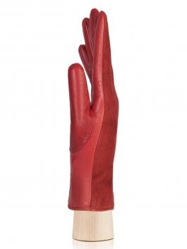 Классические перчатки Labbra  LB-4707 Бордовый фото №2 01-00003695