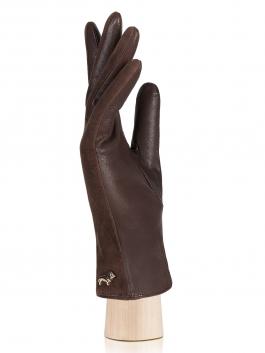 Классические перчатки Labbra  LB-4707 Коричневый фото №2 01-00003693