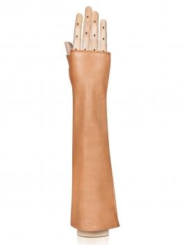 Длинные перчатки ELEGANZZA (Элеганза) 605shelk Бежевый фото №1 01-00020564