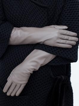 Длинные перчатки ELEGANZZA (Элеганза) IS955 Коричневый фото №2 01-00020227