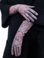 Fashion перчатки ELEGANZZA (Элеганза) IS00148 Лиловый фото №3 01-00020566