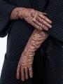 Fashion перчатки ELEGANZZA (Элеганза) IS00148 Бордовый фото №3 01-00023451