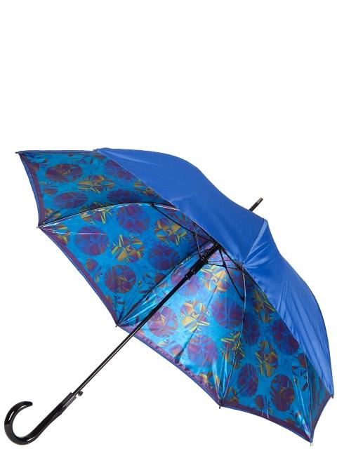 Зонт-трость ELEGANZZA (Элеганза) T-06-0349D Синий фото №1 01-00025095