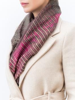 Палантин ELEGANZZA (Элеганза) XQ42-0822 Розовый фото №2 01-00024408