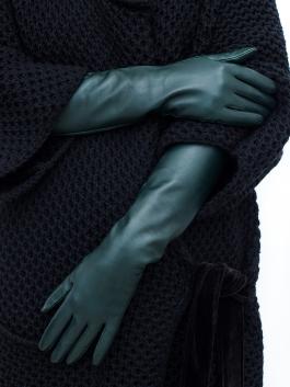 Перчатки Touch ELEGANZZA (Элеганза) TOUCHF-IS0585shelk Зеленый фото №3 01-00010661