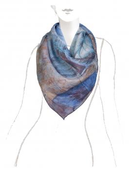 Платок ELEGANZZA (Элеганза) D40-1196 Синий фото №2 01-00018819