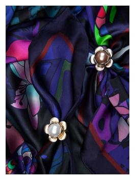 Бижутерия для платков ELEGANZZA (Элеганза) R624 Рыжий фото №2 01-00023937