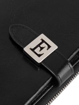 Кошелёк ELEGANZZA (Элеганза) Z5621-2804 Черный фото №5 01-00026899
