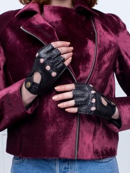 Автомобильные перчатки ELEGANZZA (Элеганза) HS012Wbezpodkladki Черный фото №2 00112157