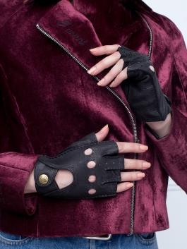 Автомобильные перчатки ELEGANZZA (Элеганза) HS102Wbezpodkladki Черный фото №2 00109438
