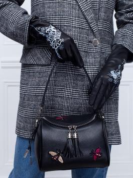 Fashion перчатки ELEGANZZA (Элеганза) F-IS0031 Черный фото №4 01-00026417