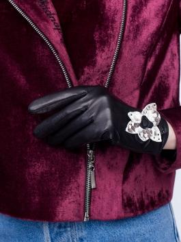 Fashion перчатки ELEGANZZA (Элеганза) IS12500 Темно-серый фото №3 01-00026389