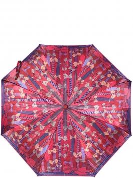 Зонт-автомат ELEGANZZA (Элеганза) A3-05-0374LS Красный фото №1 01-00026728