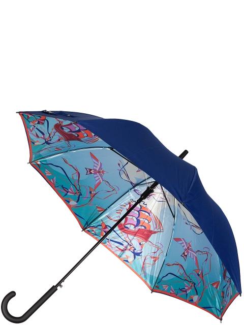 Зонт-трость ELEGANZZA (Элеганза) T-05-0379D Голубой фото №1 01-00026838