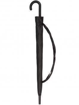 Зонт-трость ELEGANZZA (Элеганза) T-05-0450D Черный фото №3 01-00026853