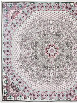 Платок ELEGANZZA (Элеганза) E04-7170 Светло-серый фото №1 01-00026239