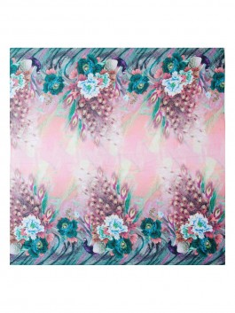 Платок Labbra  LFA60-734 Розовый фото №3 01-00026312