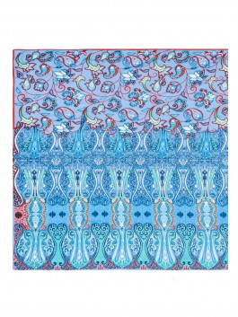 Палантин ELEGANZZA (Элеганза) D34-1209 Синий фото №1 01-00026359