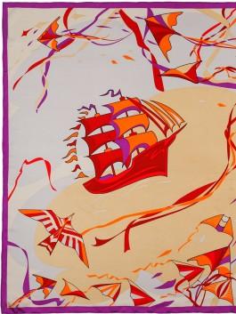 Платок ELEGANZZA (Элеганза) E04-7173 Бежевый фото №1 01-00026255