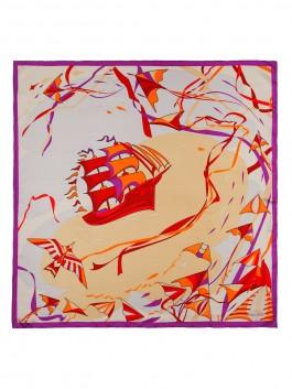 Платок ELEGANZZA (Элеганза) E04-7173 Бежевый фото №2 01-00026255