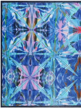 Платок ELEGANZZA (Элеганза) E12-7175 Синий фото №1 01-00026256