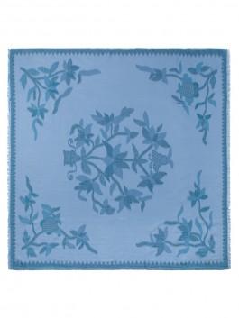 Платок ELEGANZZA (Элеганза) MX20-0931 Голубой фото №2 01-00026859