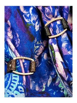 Бижутерия для платков ELEGANZZA (Элеганза) 28A-F1003 Черный фото №2 01-00012936