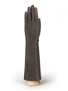 Длинные перчатки ELEGANZZA (Элеганза) F-IS0022 Коричневый фото №1 01-00010640